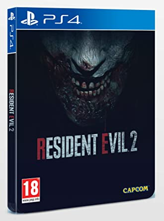 Resident Evil 2 Steelbook Edition (PS4): Amazon co uk: PC & Video Games