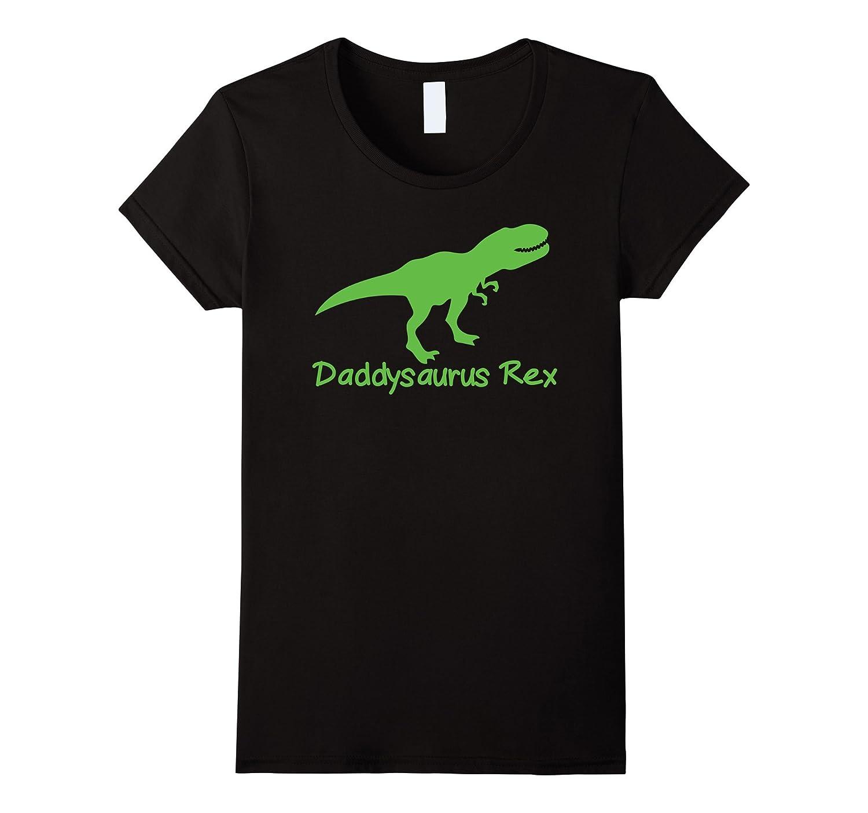 Funny Cute Dinosaur Father's Day Gift Daddysaurus Rex Shirt