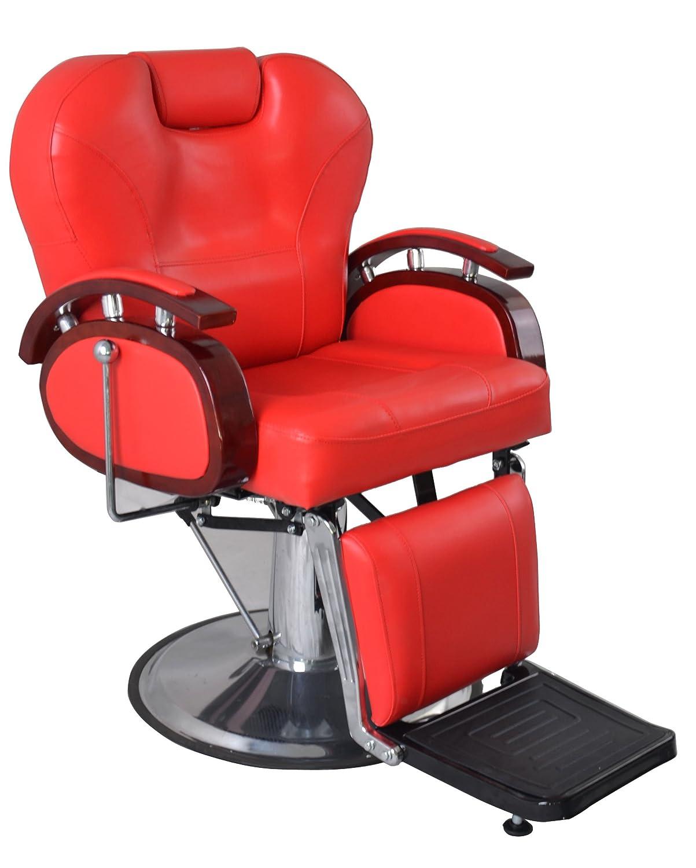 Amazon.com: Exacme Hydraulic Recline Barber Chair Salon Beauty Spa ...