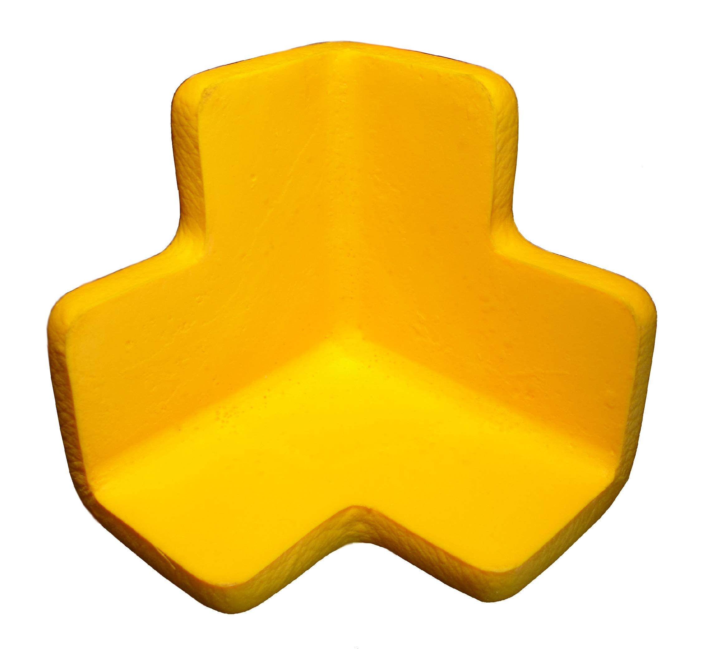 Boing Safety | 3D Jumbo Foam Corner Guards | 4 Pack | Black by BOINGSAFETY.COM (Image #4)