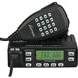 LUITON LT-898UV Dual Band Mobile Radio 10watts Dual Standby with Free Programming Cable VHF UHF FM Transceiver (Black)