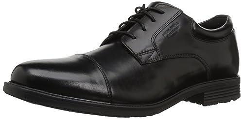 7881b2fa257a7d Rockport Men s Essential Details WP Cap Toe Black 5 M ...