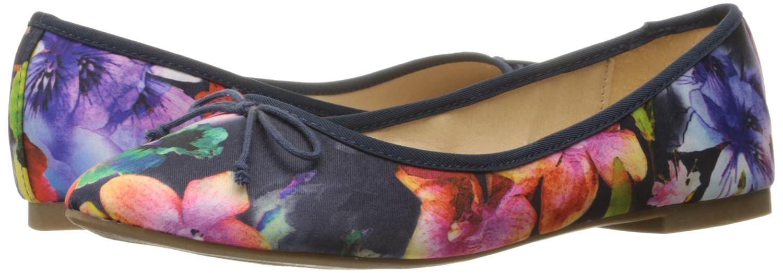Rampage Frauen Flache Schuhe Marineblau mit mit Marineblau Blumenmuster 299eac