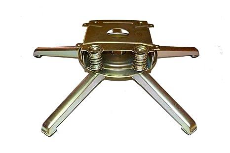 Ferreclinn Pié Giratorio de sillón balancín, Mecanismo de sillón con 4 muelles, 5 Patas.