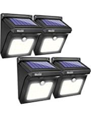 BAXIA TECHNOLOGY BX-SL-101 Solar Lights Outdoor 28 LED Wireless Waterproof Security Solar Motion Sensor Lights, (400LM,4 Packs)