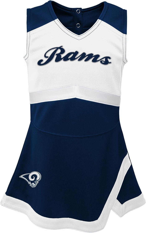 Outerstuff NFL Girls Kids /& Youth Girls Cheer Captain Jumper Dress
