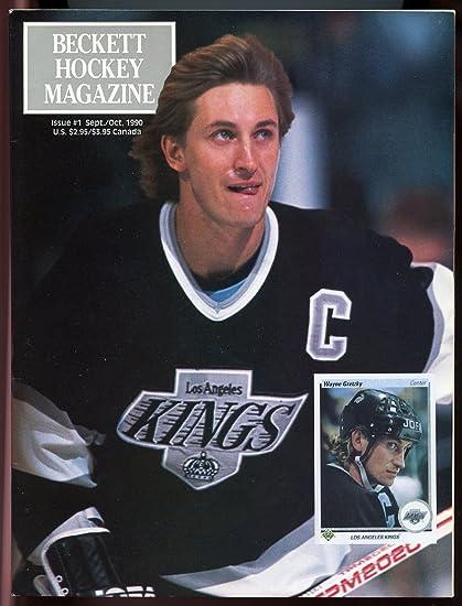 Beckett Hockey Magazine  1 Sept Oct 1990 Wayne Gretzky LA Kings Rookie  Cover VG 6be1809f6