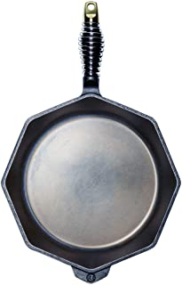 """product image for FINEX 12"""" Cast Iron Skillet, Modern Heirloom, Handcrafted in The USA, Pre-Seasoned with Organic Flaxseed Oil"""