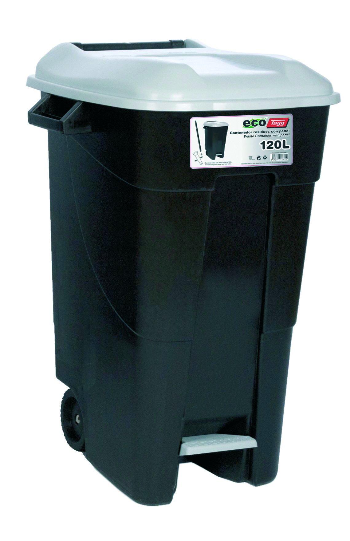 Tayg 423000 Contenedor de residuos Eco 120 l. GR. C/Pedal
