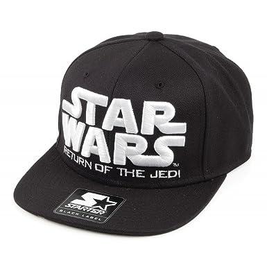 ab75b9fa58f Starter Snapback Return Of The Jedi Baseball Cap - P-Icon - Black-White