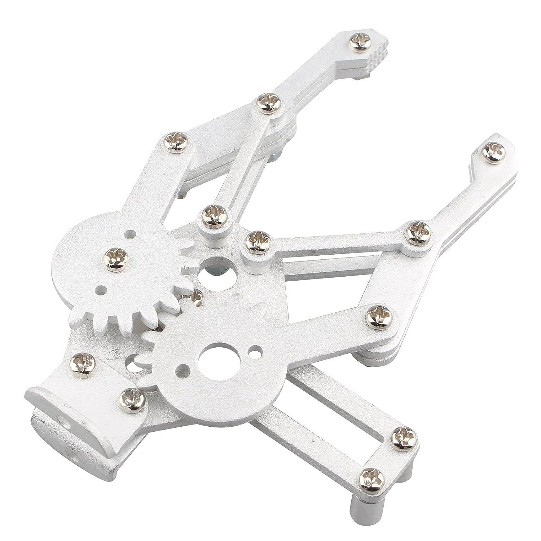 HALJIA Brazo Rob/ótico Mec/ánico Pinza Garra de Aluminio Robot Kit de Montaje para Arduino MG995 SG5010