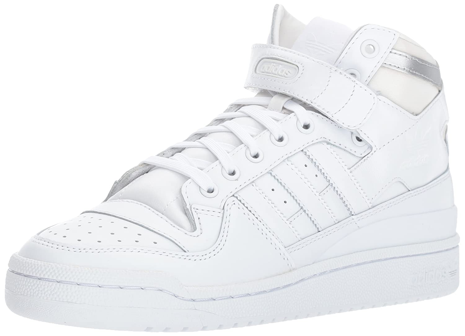 sale retailer 92431 547c1 adidas Originals Mens Forum Mid Refined Fashion Sneaker