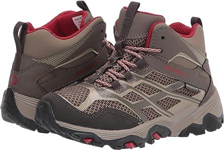 Black All Sizes Merrell Moab Fst Mid Ac Wtpf Kids Boots Walking