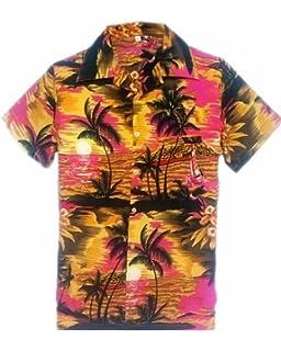 63d520ddf7f SAITARK Mens Hawaiian Shirt Stag Beach Hawaii Aloha Party Summer Holiday  Fancy BP