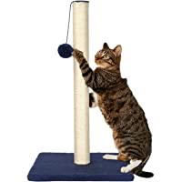 LIVINGbasics™ 24-Inch Cat Tree Scratching Post Sisal Kitten Scratcher with Hanging Toy