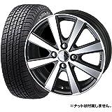 【2016年製】国産スタッドレスタイヤ(155/65R14)+ホイール(14インチ) 4本SET(1台分)■Dセット:スマックVI-R[GM/PO]