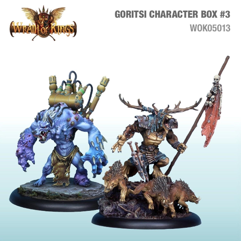 Wrath Of Kings - Goritsi - Kozakar & Gorbal Box- CMNWOK05013 Cool Mini or Not