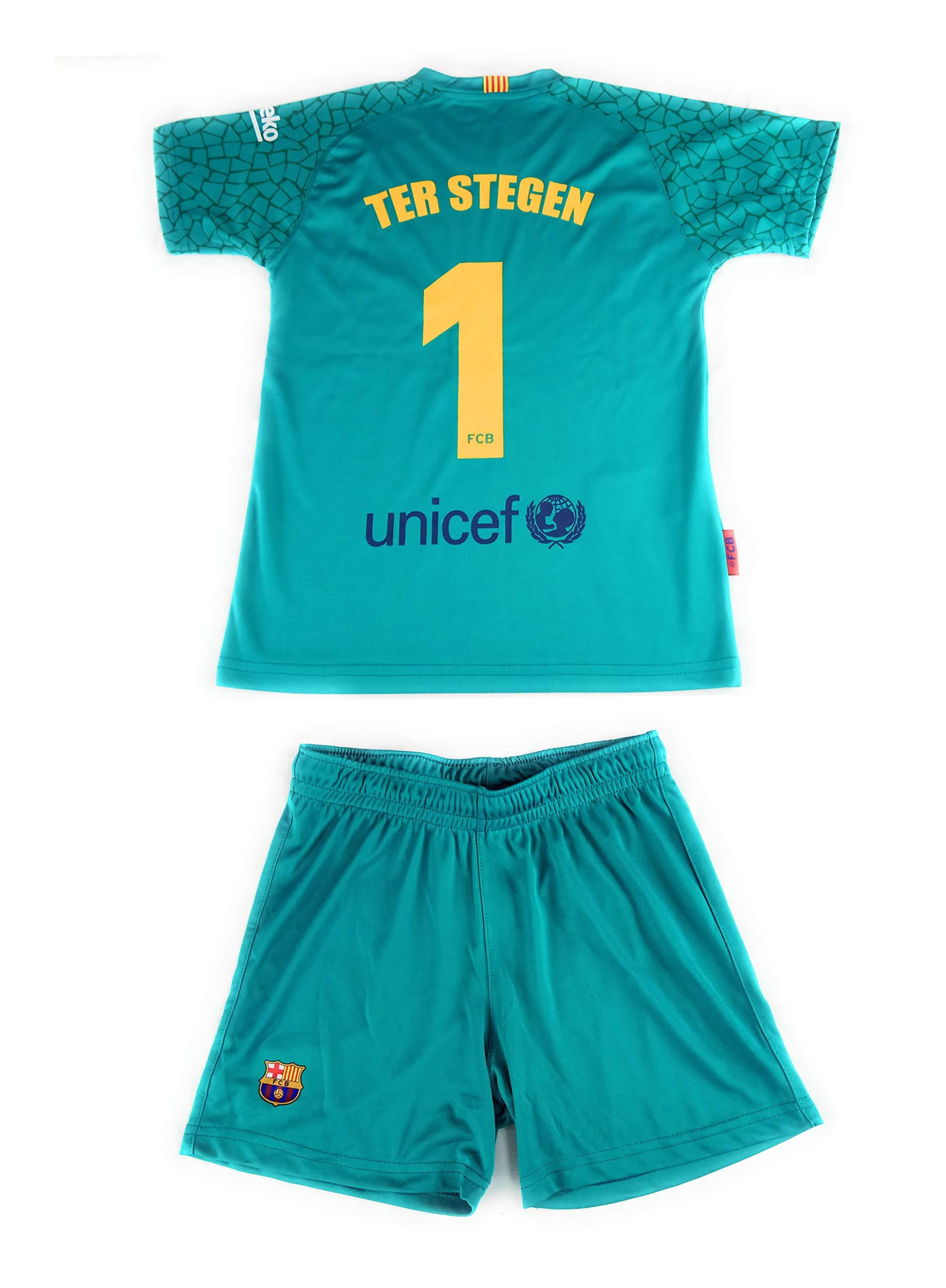 Rogers Equipación 17-18 FC Barcelona niño TER STEGEN ...