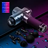 Massage Gun, Cordless Deep Tissue Muscle Massager Gun for Athlete, Fitness Use ,Muscle Recovery, Handheld Percussion Massager for Muscle Relaxation, Pain Relief, 6 Speeds Pro Massage Device