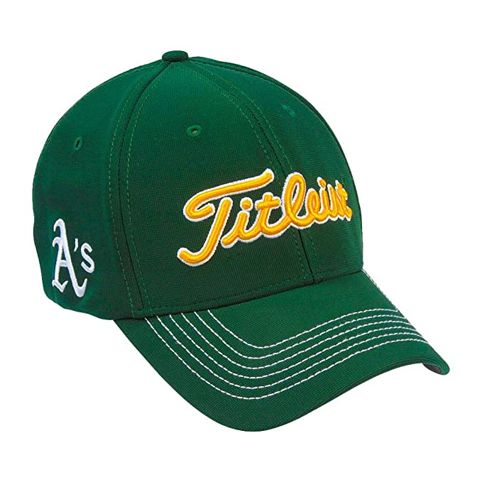 Image Unavailable. Image not available for. Color  Titleist MLB Oakland  Athletics Fitted Cap ... c0a8e2148aa