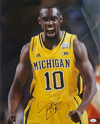 outlet store sale 38386 01cf2 Tim Hardaway Jr. Autographed Signed 16x20 Michigan ...