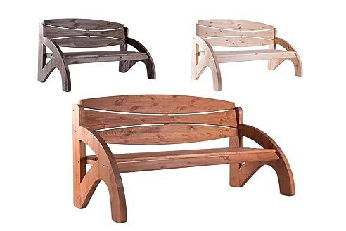 Amazon.De: 3 Sitzer Gartenbank Holz Massiv Jorn Von Bomi