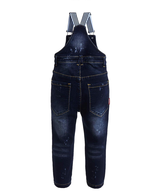 mit Tr/äger GULLIVER Baby Junge Jeans Overall gerade Passform Farbe Denim Blau Baumwolle f/ür 9-24 Monate