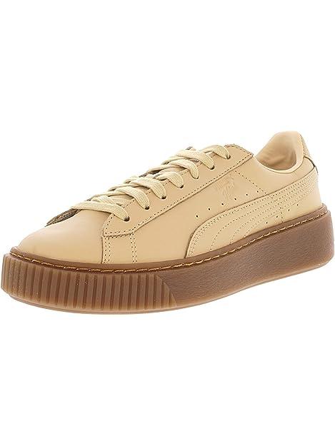 scarpe beige puma