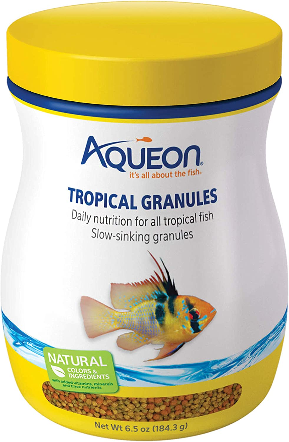Aqueon Tropical Granules Fish Food