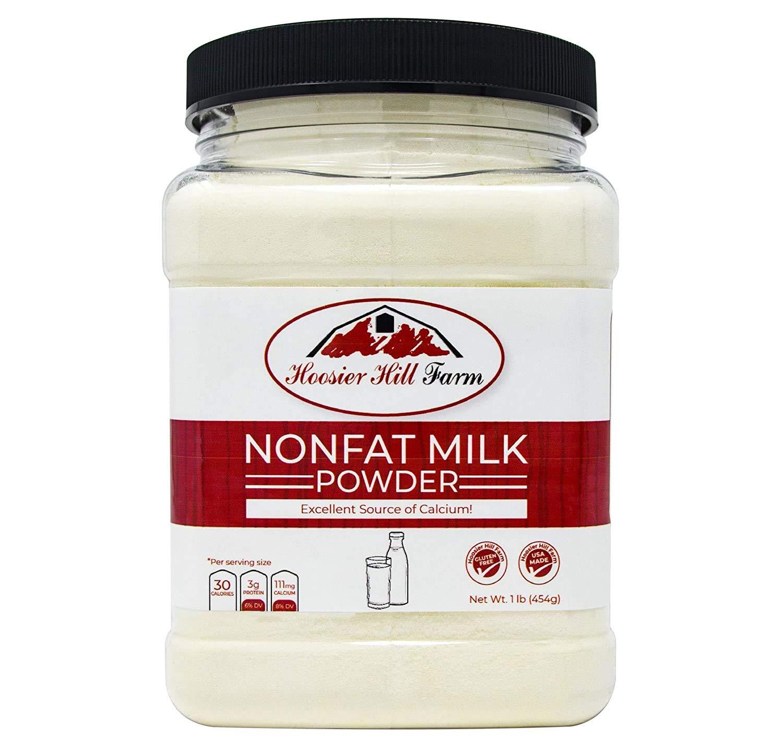 Hoosier Hill Farm Instant Nonfat Dairy Milk Powder, 1 pound