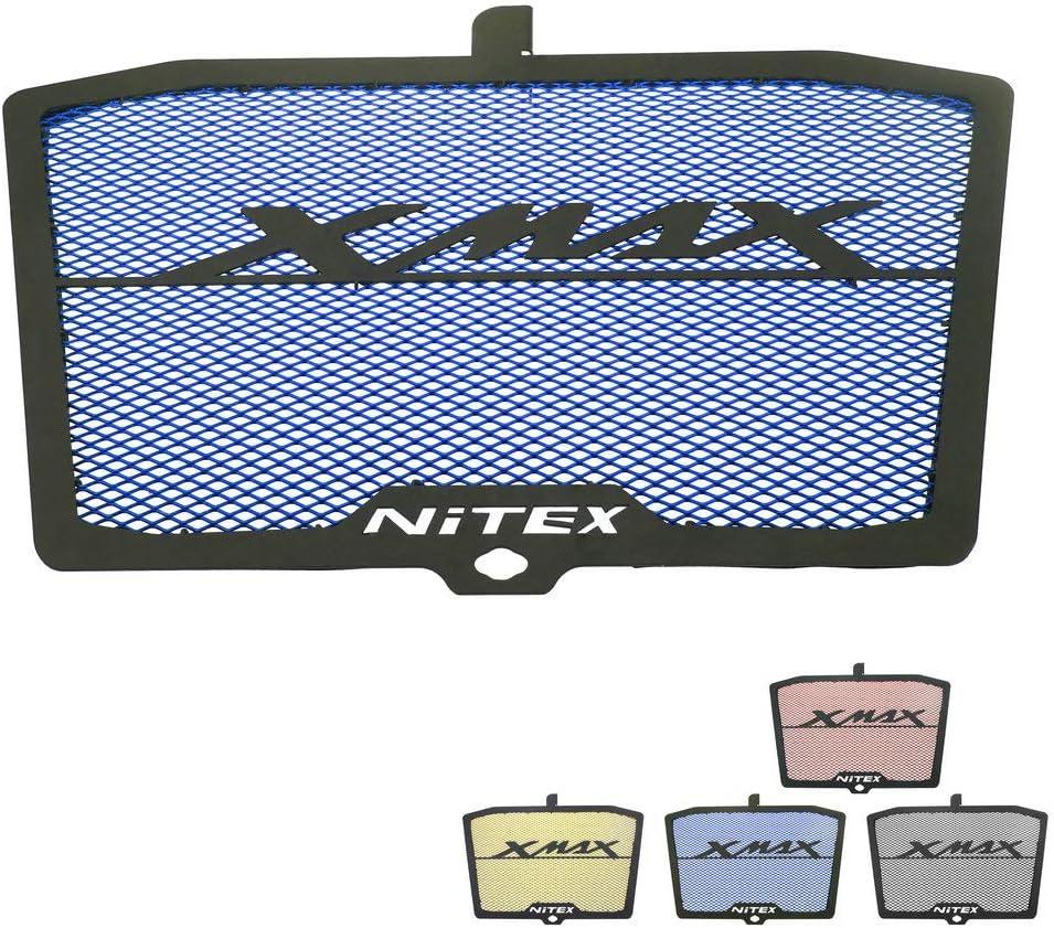 Heinmo Motorcycle CNC Protector de rejilla de radiador de aluminio Protector de cubierta de Gill Protector Radiadores para Yamaha XMAX 300 2017