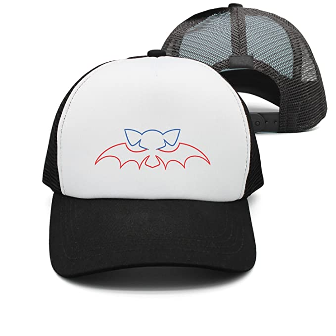 Eoyles Kawaii Halloween Bat Adjustable Size Visor Hat Fitted Cap Classic  Unisex Bucket-Hats 5b9961a150c