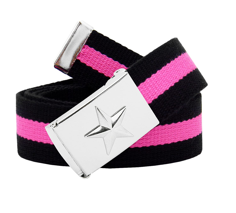 Black and Pink Stripe