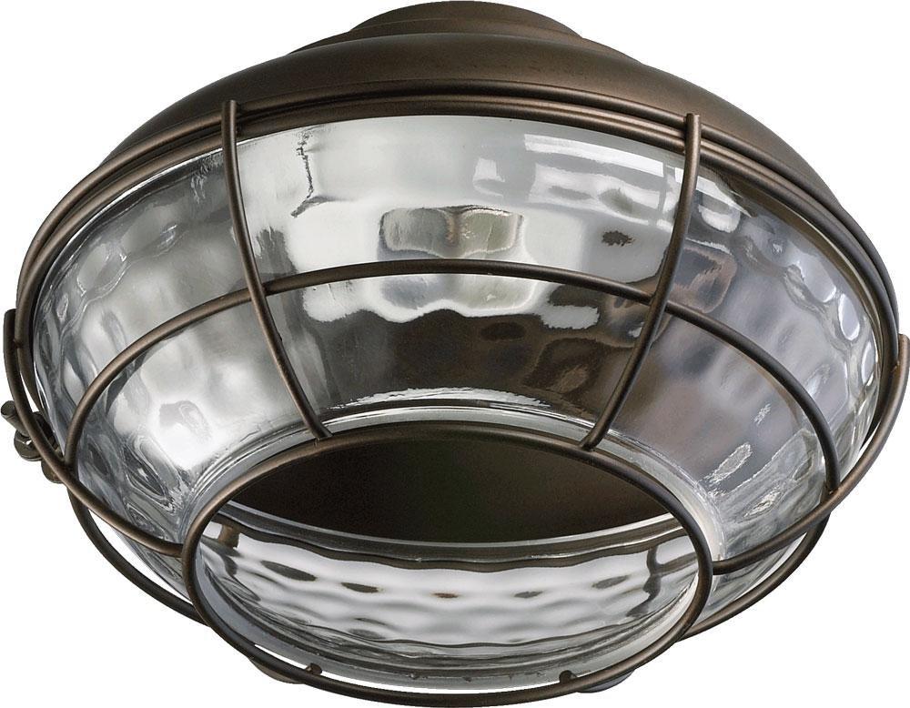 One Light Oiled Bronze Fan Light Kit 1374-886 by Quorum