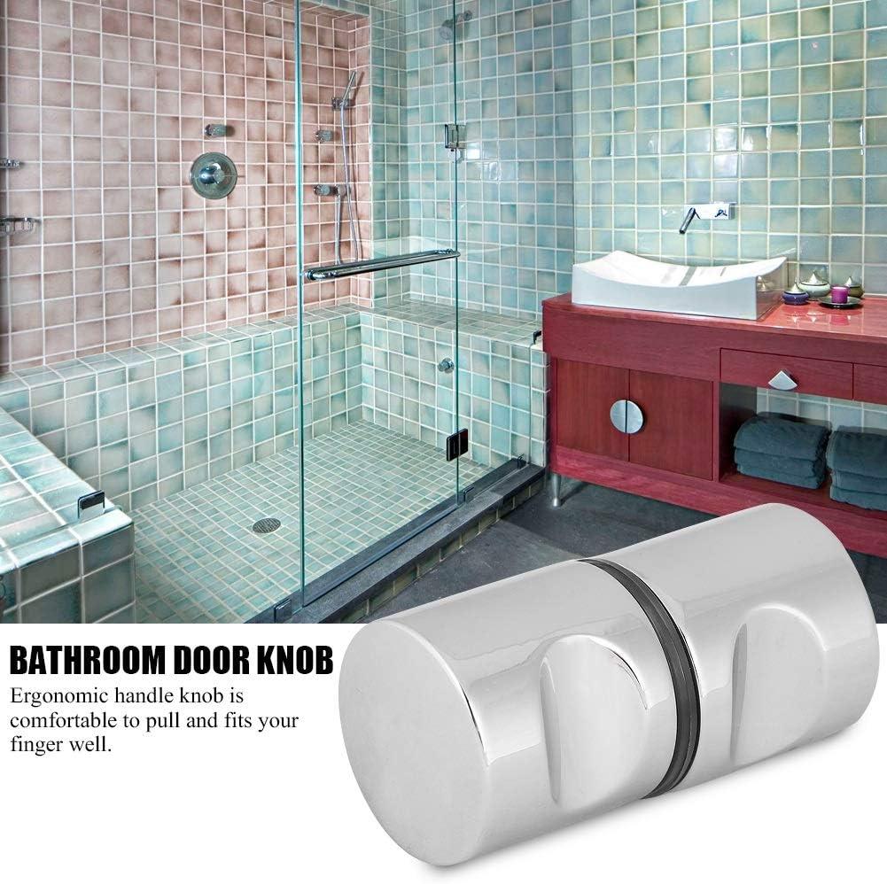 Tirador de la manija para puerta de vidrio del baño: Amazon.es: Bricolaje y herramientas