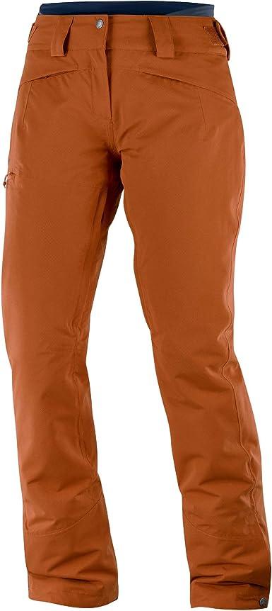 Amazon Com Salomon Qst Pantalon De Nieve Para Mujer Clothing