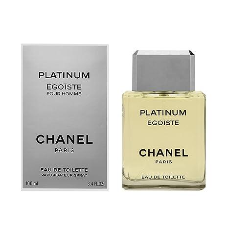 3a255cd641a Chanel Egoiste Platinum Eau de Toilette - 100 ml  Amazon.es  Belleza