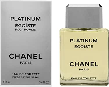 Chanel Platinum Égoïste Eau de Toilette Spray for Men, 100 ml