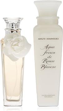 Adolfo Dominguez - Estuche de regalo Eau de Toilette Agua Fresca de Rosas Blancas: Amazon.es: Belleza
