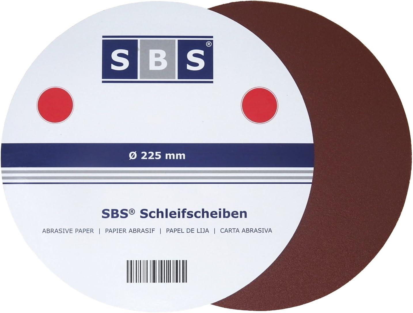225 MM 25/ SBS Disque /à meuler Velcro 150 Long manche pour ponceuse Schleifgiraffe Diam/ètre