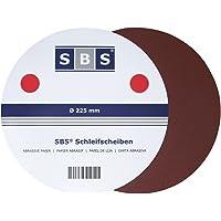 SBS 30 Piezas Velcro Muelas abrasivas Grano 40