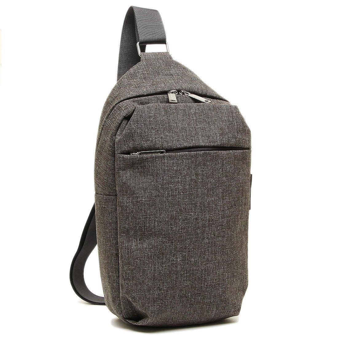 マリメッコ バッグ MARIMEKKO 045485 009 コルッテリ KORTTELI SHOULDER BAG レディース ボディバッグ MELANGE GREY 斜め掛け可 [並行輸入品] B074DQQ2K3