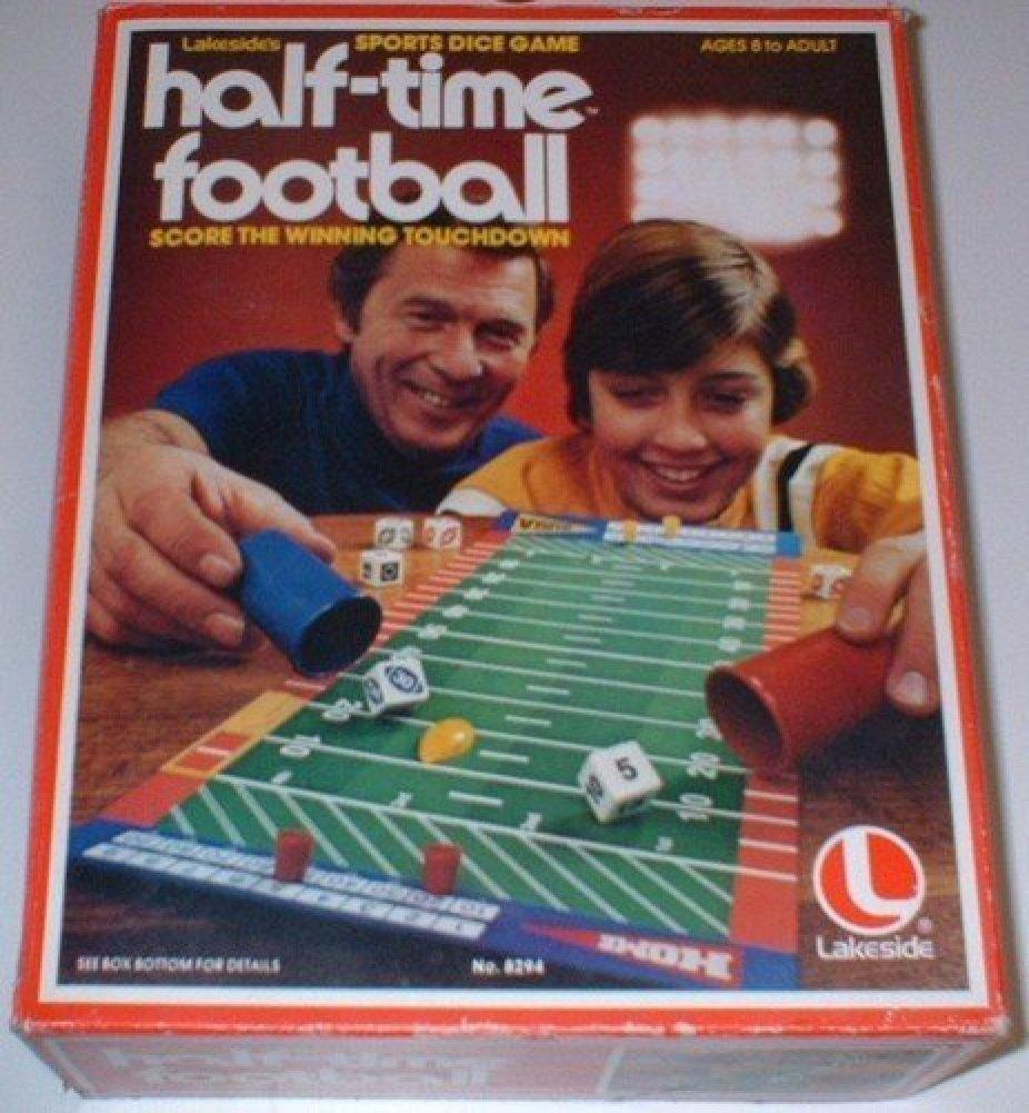 珍しい Vintage Half-Time Football Sports Half-Time Vintage Dice Football Game B005GACCKK, 虎太郎屋:79d29834 --- cliente.opweb0005.servidorwebfacil.com