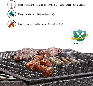 Godagoda Filet de Barbecue Réutilisable et Découpable Grille