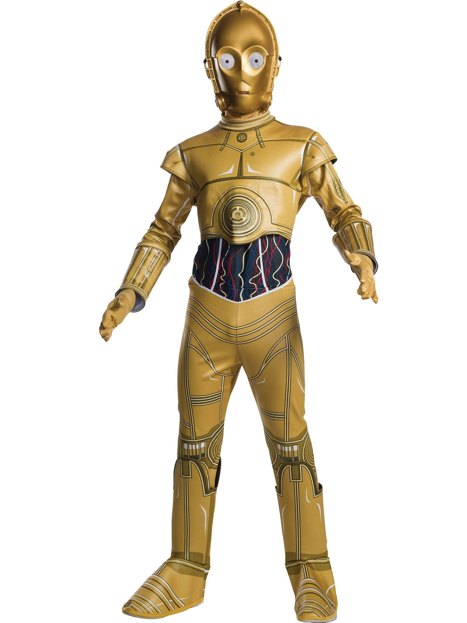 Rubie's Star Wars Classic C-3Po Children's Costume, Medium