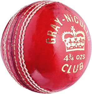 Gray Nicolls Club Leather Cricket Ball - 4.75 oz