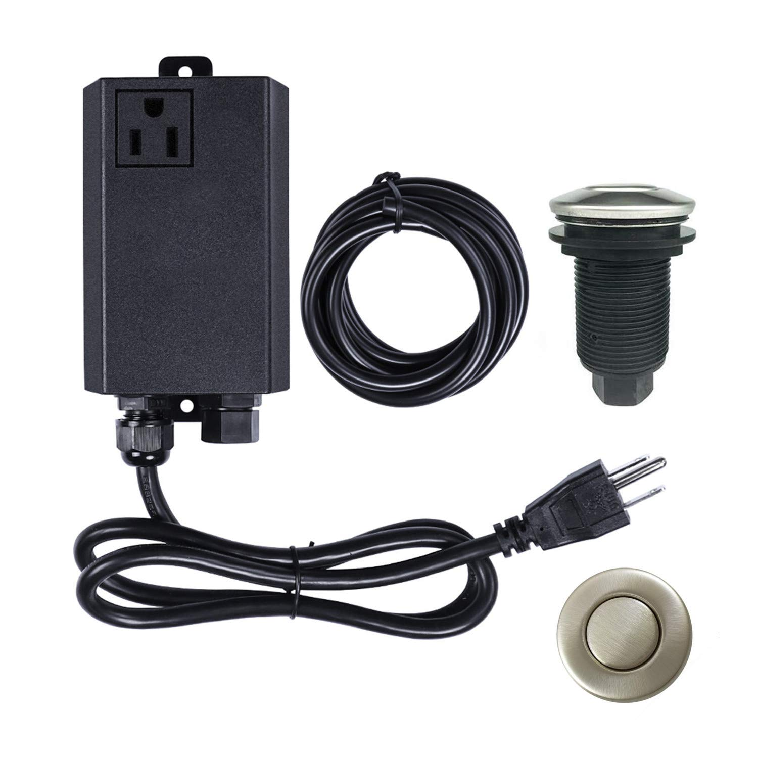 Garbage Disposal Air Switch Kit Sink Top Waste Disposal
