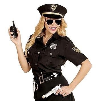 WIDMANN 67652 adultos Disfraz Agente de Policía, mujer ...