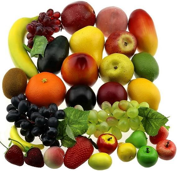 Amazon.com: Gresorth 30 Fruits Of Decorative Realistic