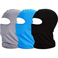 MAYOUTH Balaclava UV Protection Face Masks for Cycling Outdoor Sports Full Face Mask Breathable 3pack Good Gift Great Present